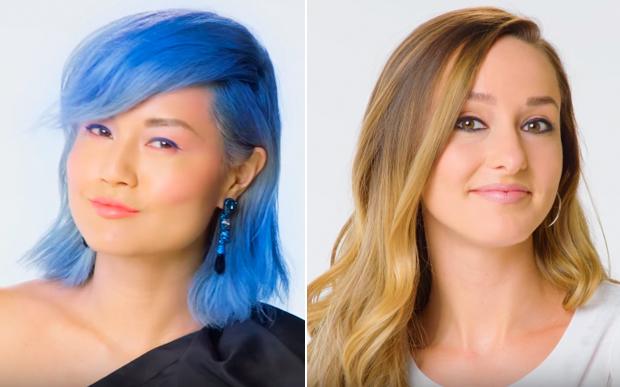 mudança cor cabelo 100 anos
