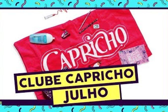 O Clube Capricho de julho está cheia de produtos incríveis