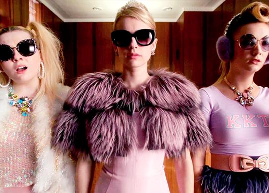series fashionistas screm queens