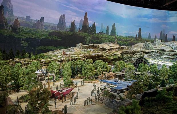 Disney libera primeiras imagens da expansão de Star Wars