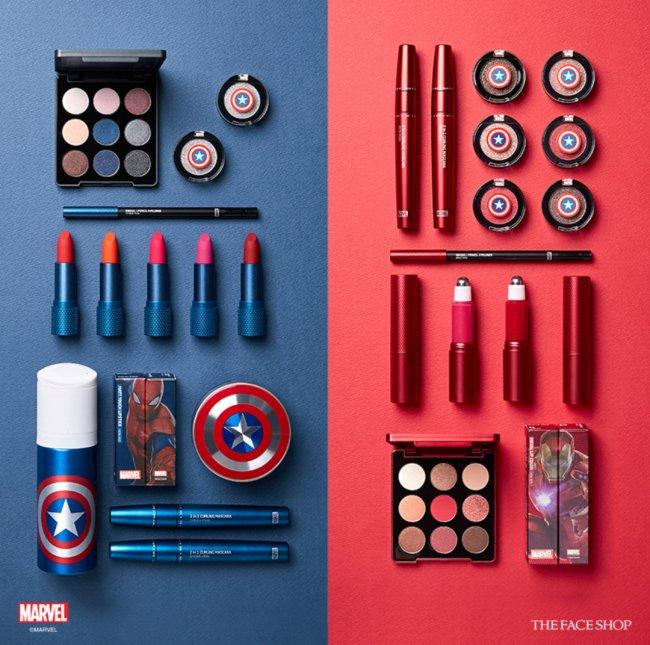 Coleção de make inspirada na Marvel