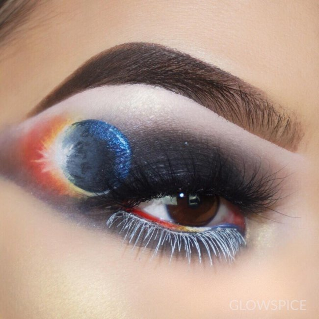 maquiagem eclipse