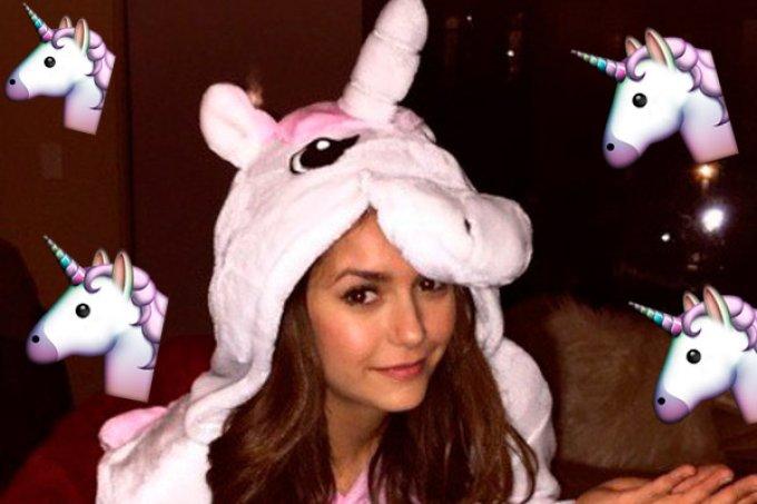 nina dobrev unicornio