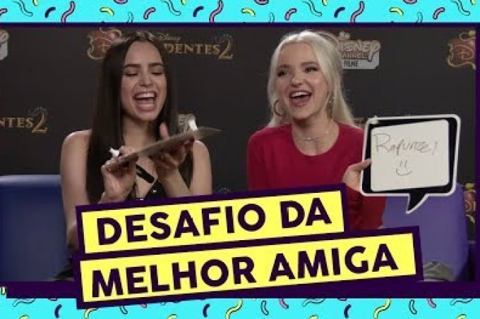 Best Friend Challenge ft. Dove Cameron e Sofia Carson
