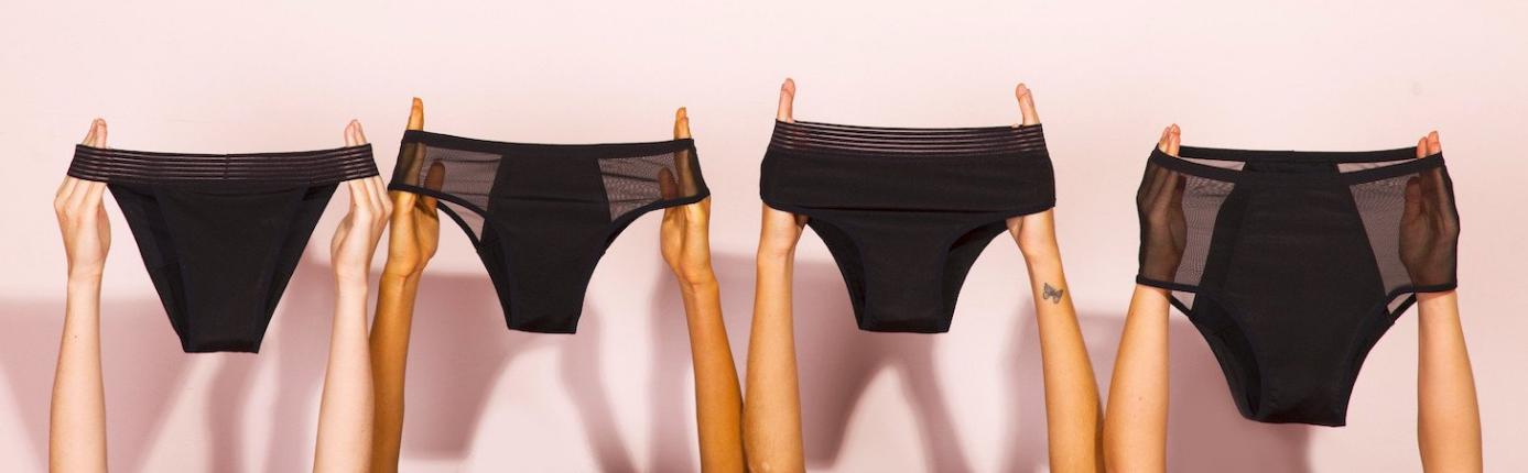 Pantys - Calcinha que substitui absorvente - Menstruação
