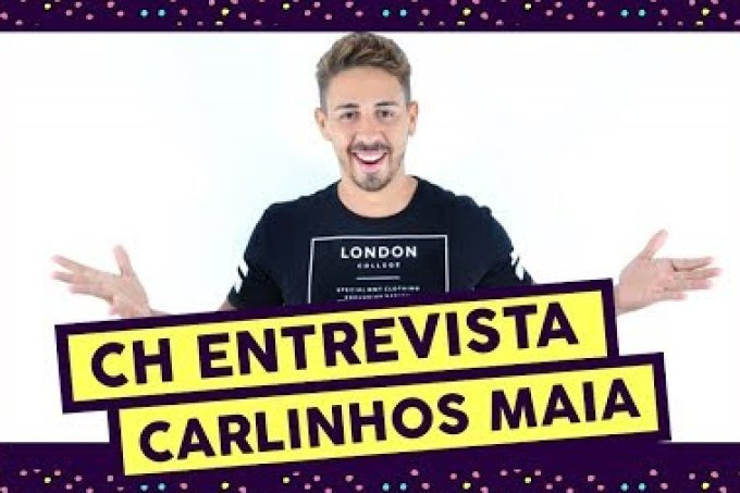 Carlinhos Maia fez tatuagem para comemorar sucesso de vídeos