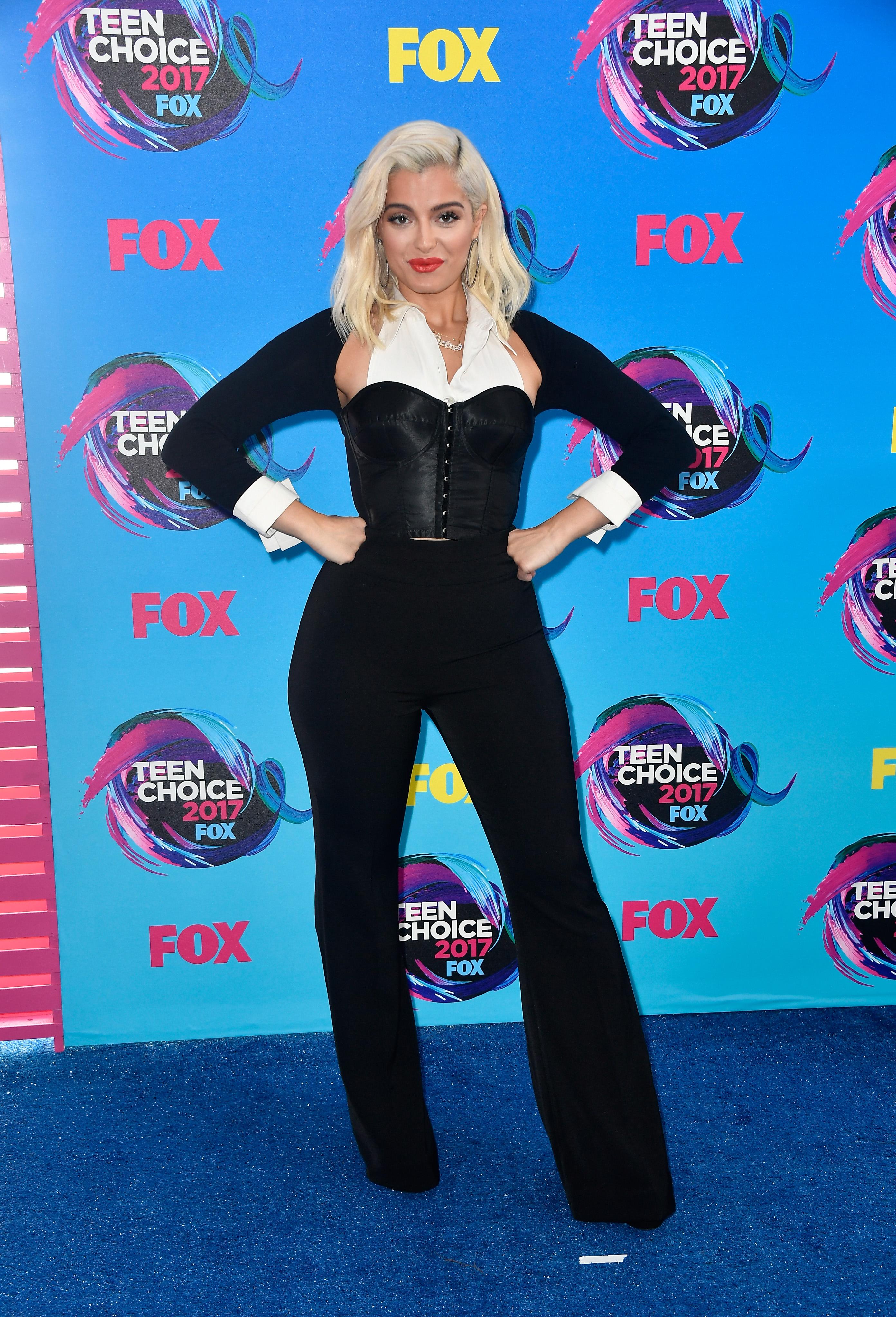 Teen Choice Awards 2017 - AUGUST 13: Singer Bebe Rexha