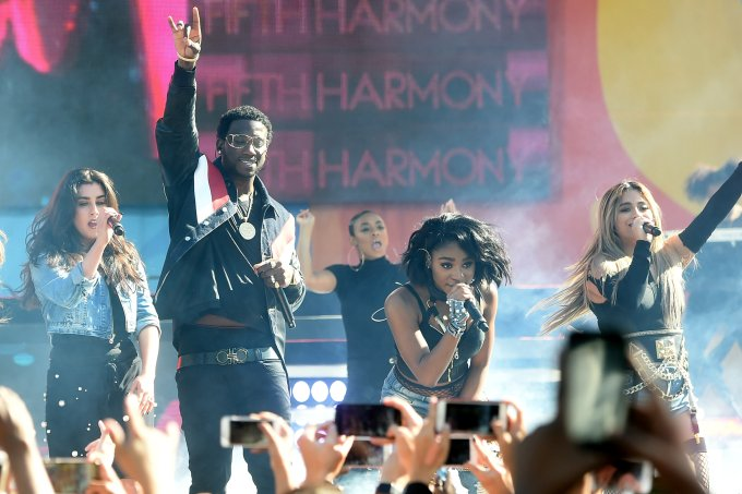 """Fifth Harmony Performs On ABC's """"Good Morning America"""""""