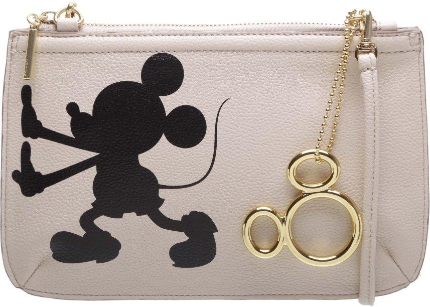 Bolsinha do tamanho ideal para guardar os que você tem de mais importante. E com a sombra do ratinho mais fofo da Disney!