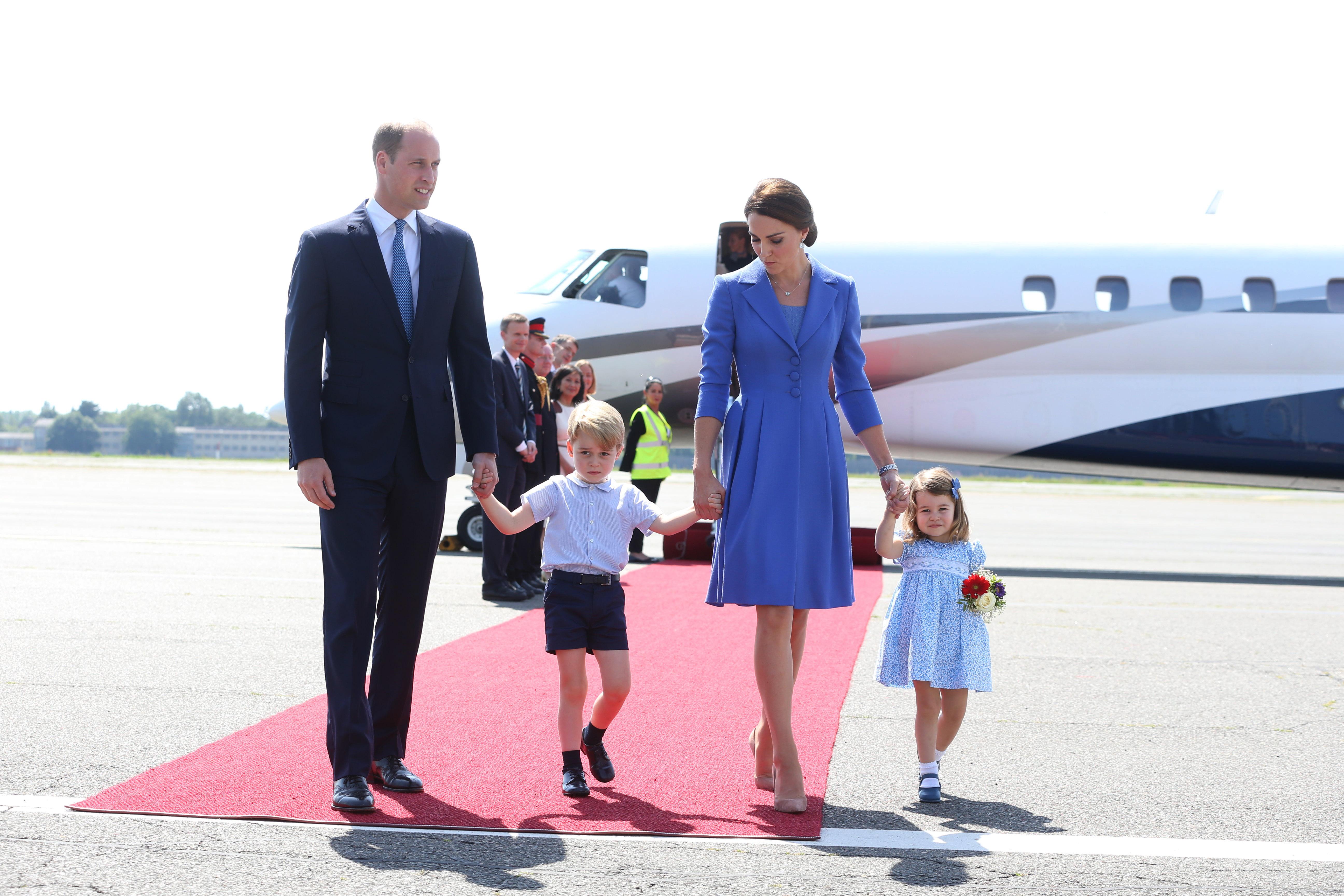 familia-real-visita-alemanha-avião