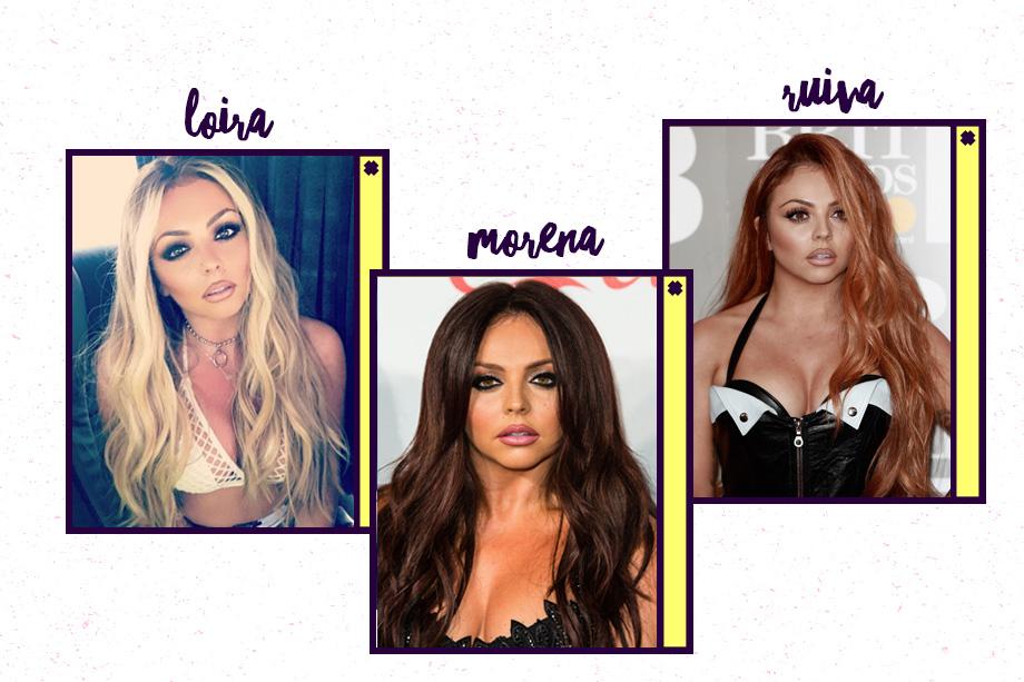 No começo do ano, Jesy Nelson, do Little Mix, estava ruiva. Em abril, apareceu loira, mas a mudança não durou muito tempo. Ah, e quando o grupo surgiu, ela tinha o cabelo bem escuro, lembra?