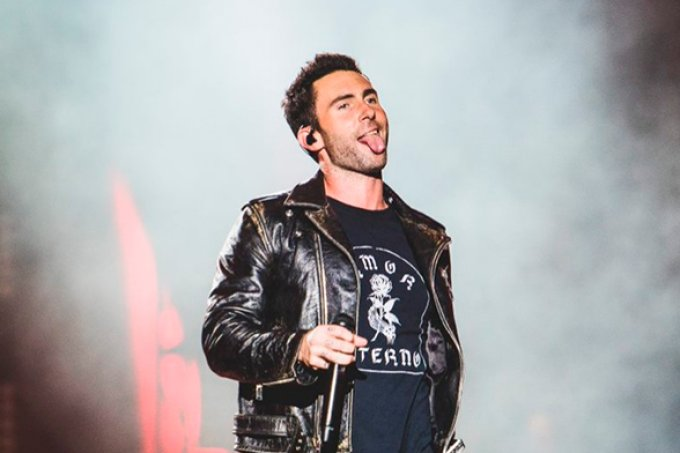 Maroon 5 economiza energia em seu 1° show no Rock in Rio 2017