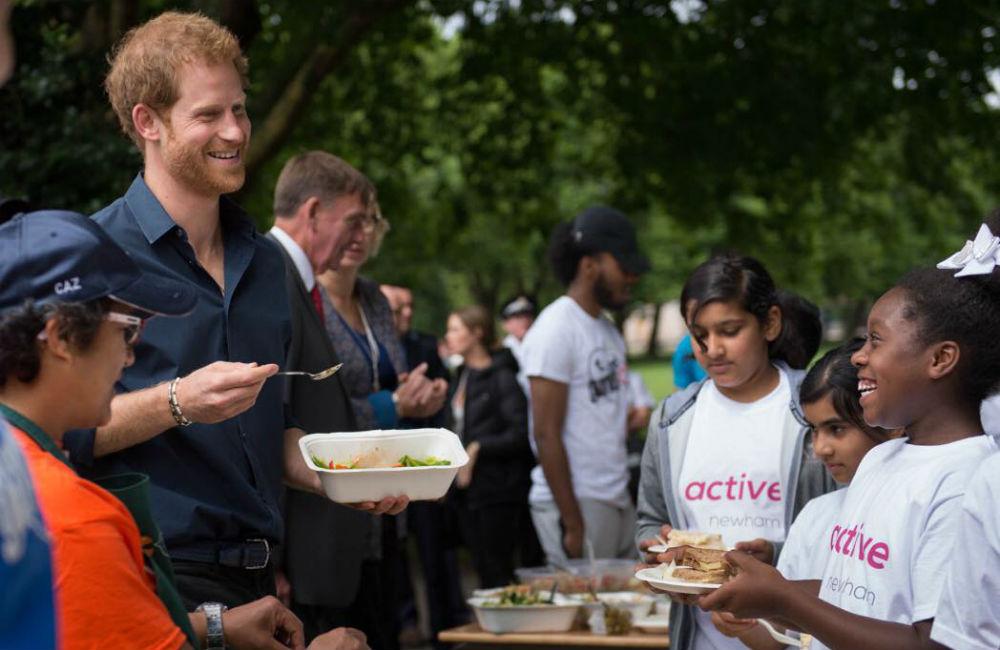 principe-harry-newham-evento-crianças