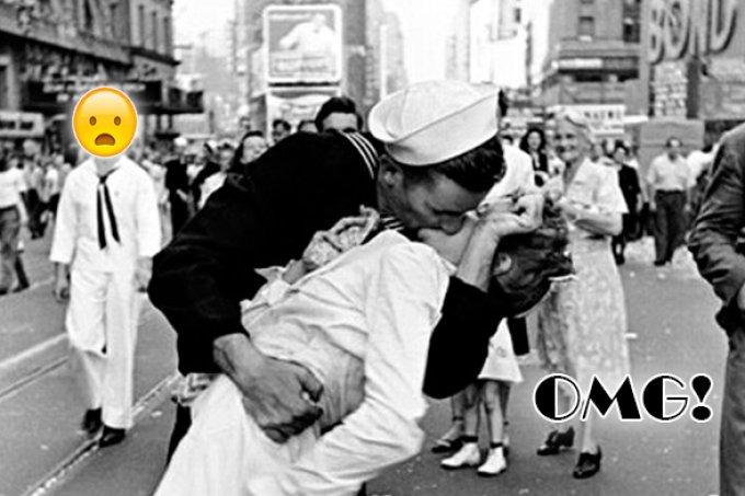 A verdade sombria sobre o icônico beijo na Times Square, em 1945