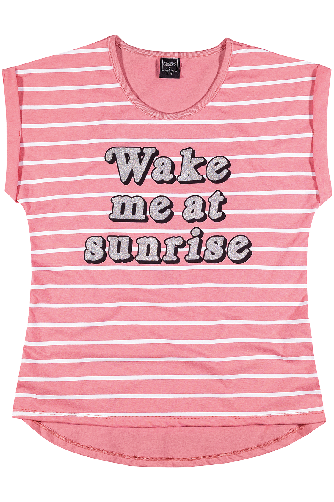 Camiseta Lettering Wake Me_Young Class CAPRICHO