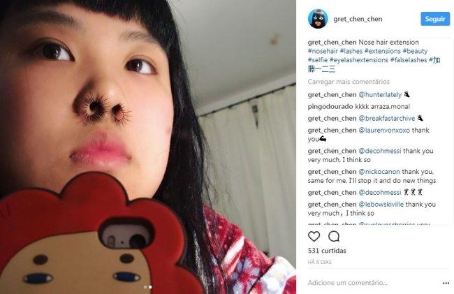 cílios-postiços-no-nariz-peludo-instagram