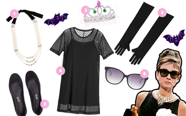 fantasia halloween vestido preto