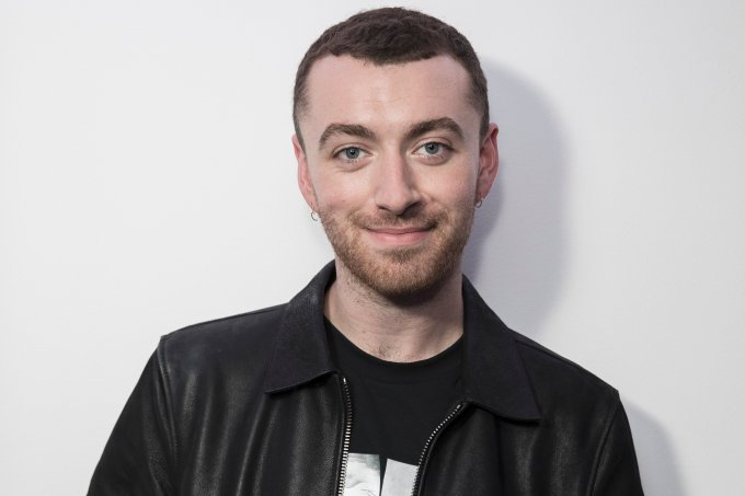 Sam Smith Visits KISS FM
