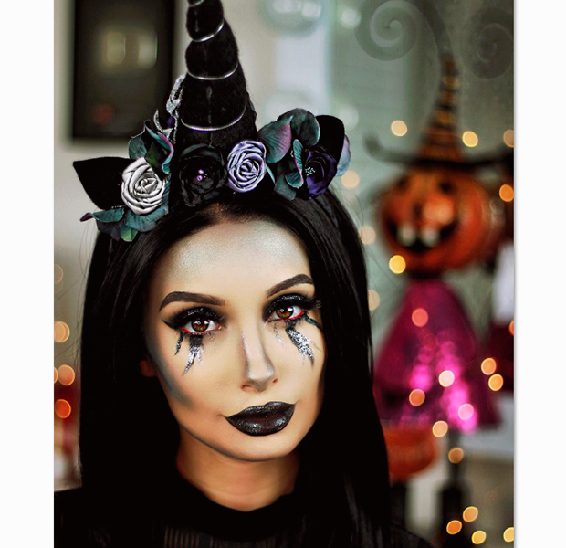make halloween unicornio