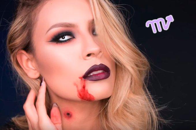 maquiagem-halloween-signo-escorpiao