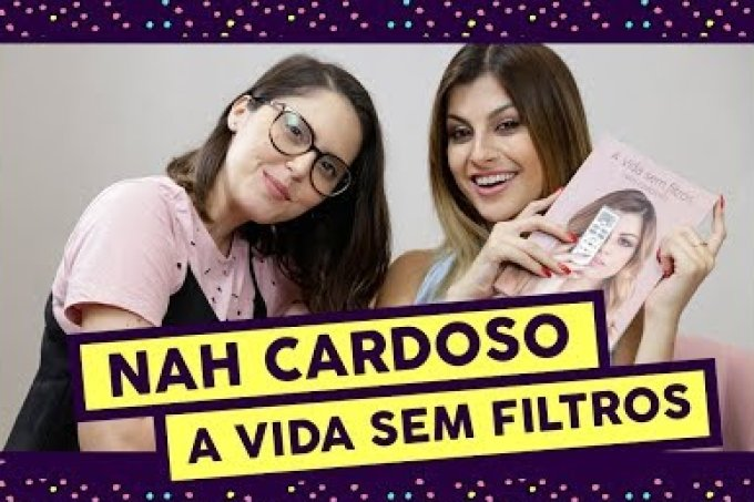"""Nah Cardoso sobre novo livro: """"eu abri realmente a minha vida"""""""