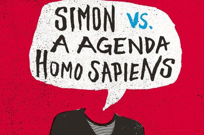 Simon vs. a agenda Homo Sapiens- Capa Livro