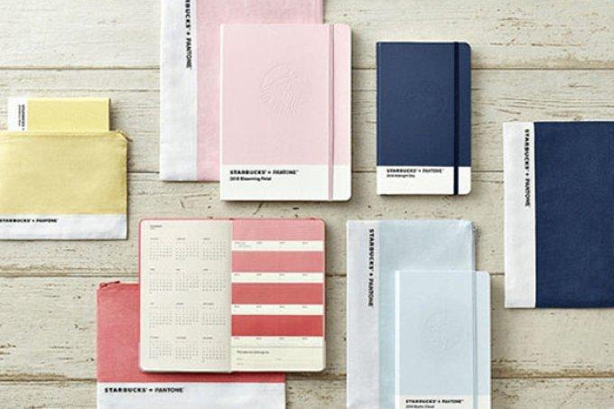 Nós estamos apaixonadas pela coleção de cadernos da Starbucks