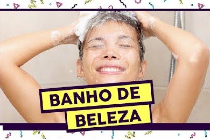 Plantão da Beleza: dicas para cuidar da pele e do cabelo no banho