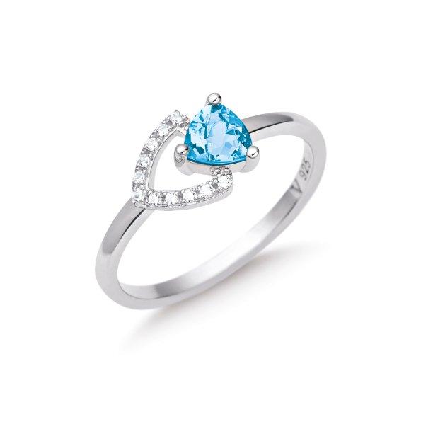 <span>Na nova coleção </span><strong>Elementos Life by Vivara</strong><span>, o elemento Água é representado pelo topázio azul.</span>