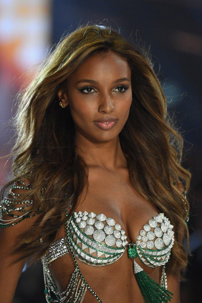 Jasmine Tookes Victoria's Secret  Fantasy Bra 2016