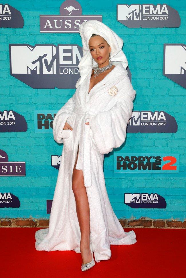 Rita Ora EMA 2017