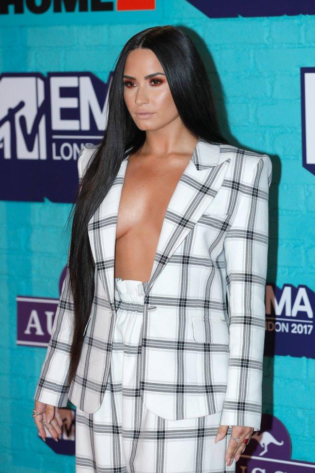 MTV EMAs 2017 Demi Lovato