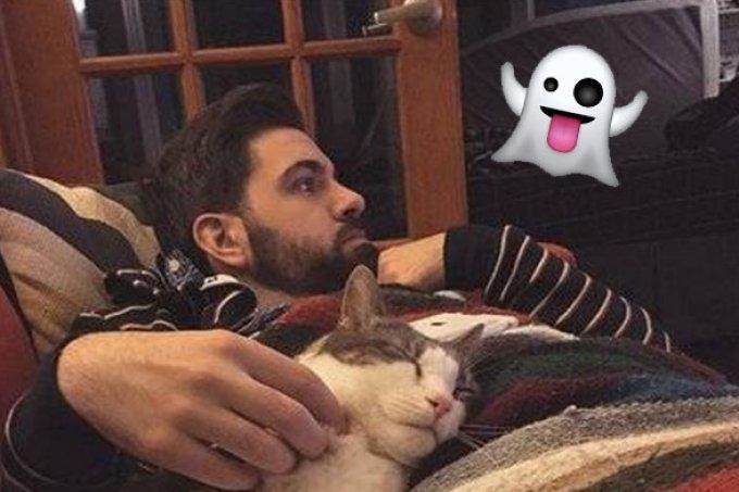 Este homem conseguiu fotografar um fantasma em seu apartamento