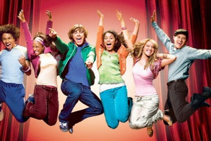 high school musical-serie