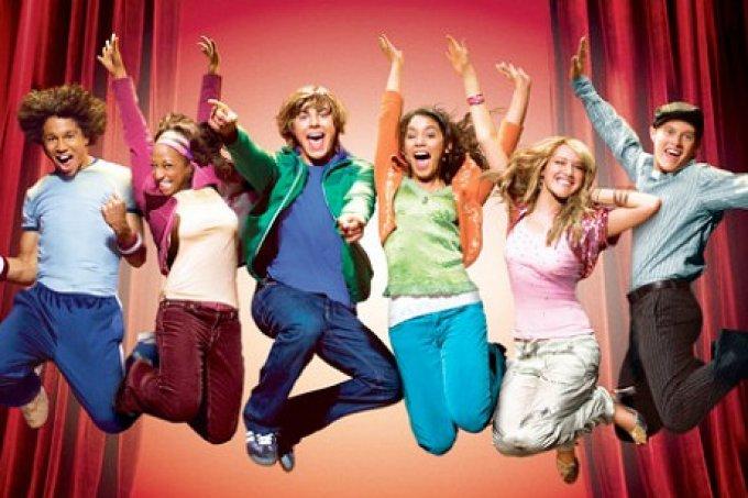 high school musical-serie