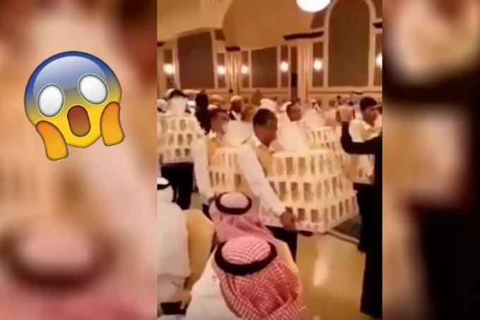 Convidados ganham iPhone 8 de lembrancinha de casamento. OMG!