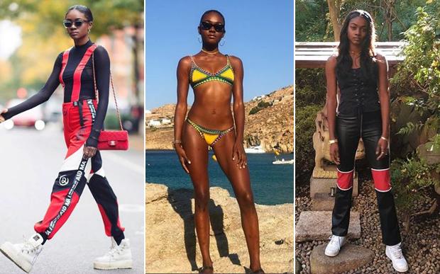 modelos negras para seguir no insta - zuri tibby