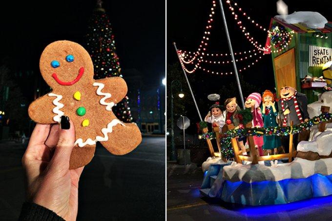 5 detalhes que ninguém vê na parada de Natal do Universal Studios