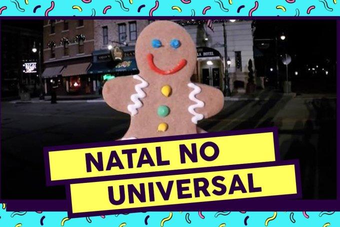 Os melhores momentos da parada de Natal do Universal Studios