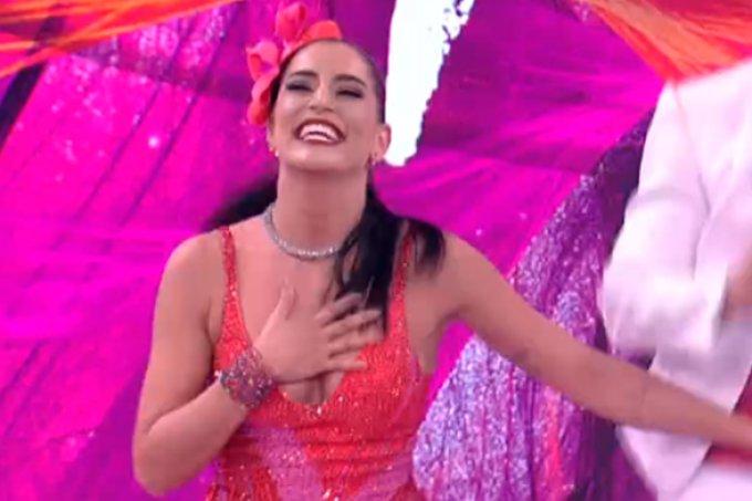 Maria Joana dá show e é a vencedora da Dança dos Famosos 2017