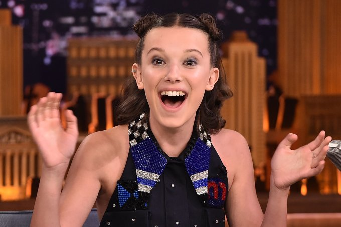 """Millie Bobby Brown Visits """"The Tonight Show Starring Jimmy Fallon"""""""