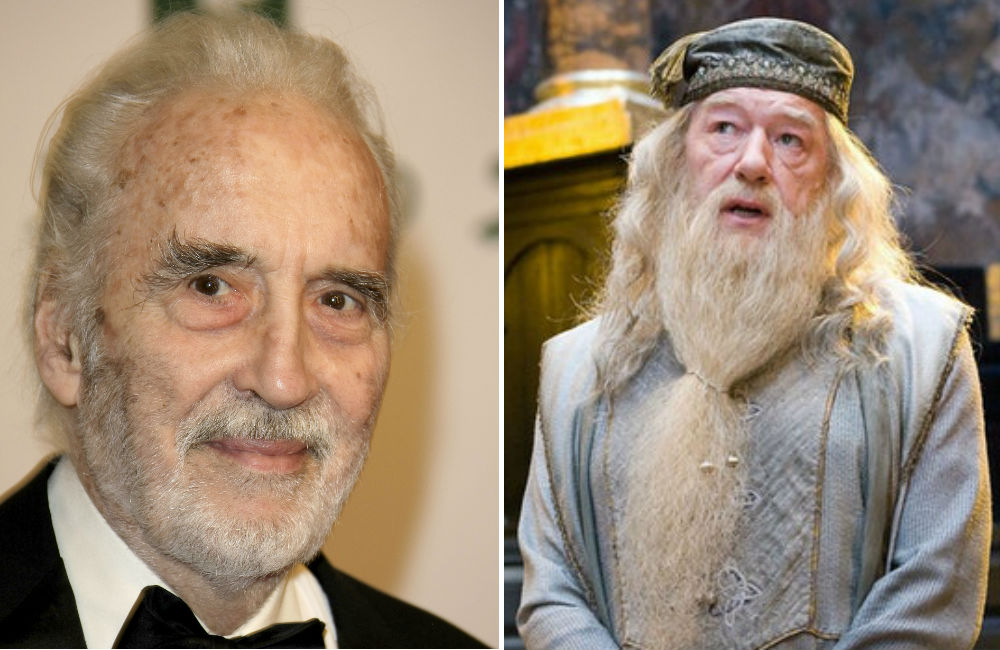 atores-que-recusaram-harry-potter-christopher-lee-dumbledore