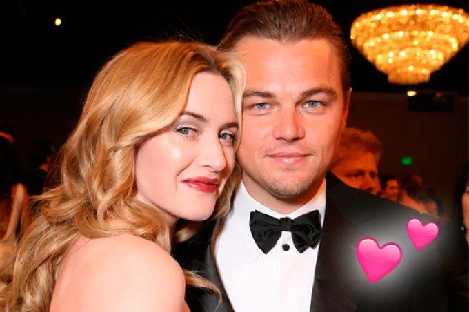 Leonardo DiCaprio e Kate Winslet salvam vida de fã com câncer