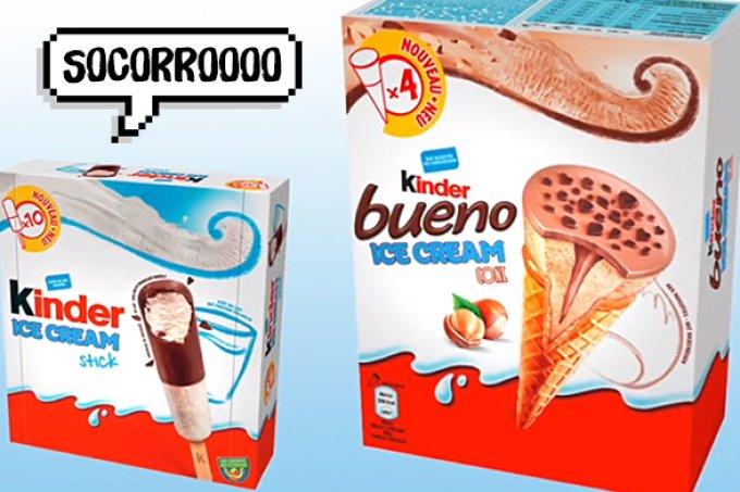 Kinder Ovo lança três opções de sorvetes e já estamos salivando!