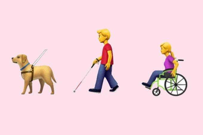 Emojis inclusivos para pessoas com deficiência podem ser lançados