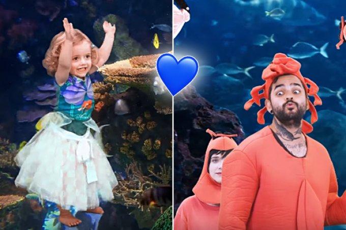 Sky é a estrela (do mar) de clipe de Lucas Silveira e Karen Jonz