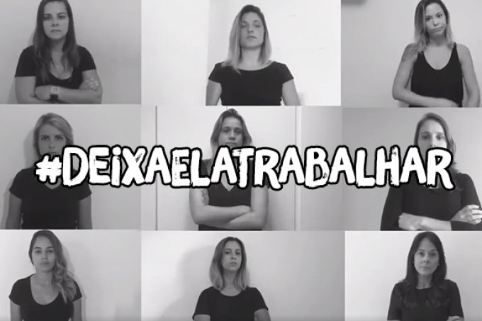 #DeixaElaTrabalhar: jornalistas lutam contra assédio na profissão