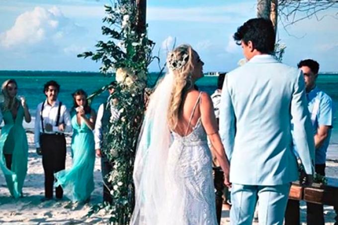 Já temos imagens do casamento dos sonhos de Tatá e Cocielo!