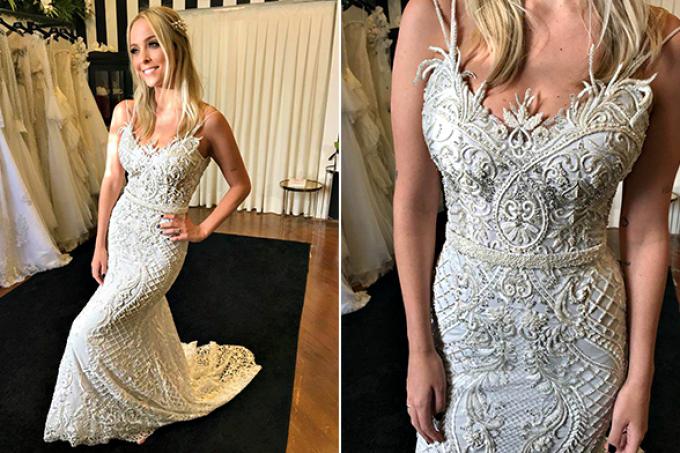 Estilista revela detalhes do vestido de noiva de Tatá Estaniecki
