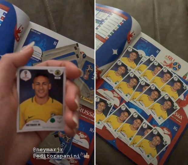 bruna-marquezine-figurinhas-neymar-album-copa-do-mundo